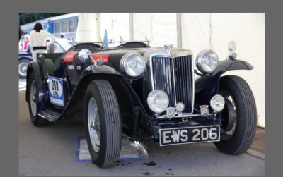 MG TC Kompressor, 1947 - front view Original